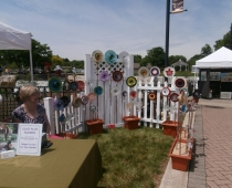 Mary Greenburg at May 2012 Art on the Walk