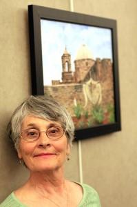Pat Hoffman at Art in Action April 2009