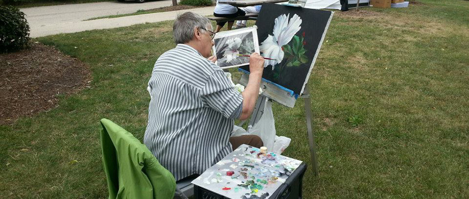 Art in the Park August 2015
