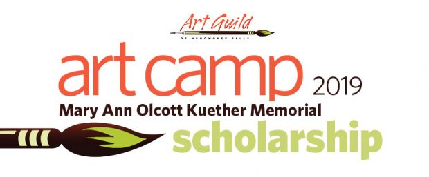 2019 Art Camp Scholarship applications open!