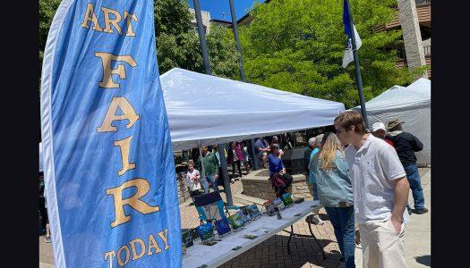 Art Fair at Falls Memorial Fest